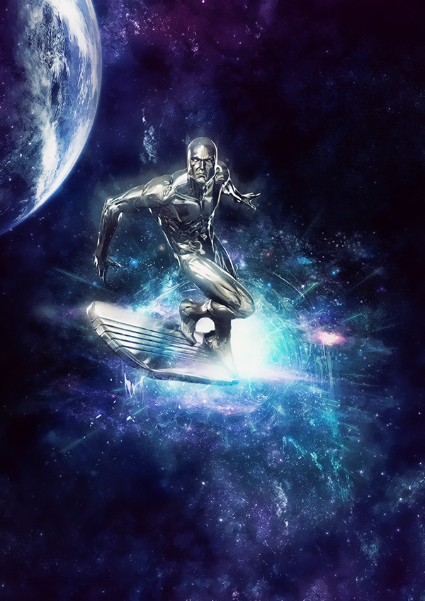 Adobe Images Search Silver Surfer Print On Behance