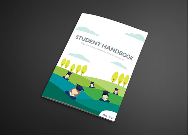Handbook Design / XiaMen University Malaysia on Pantone Canvas Gallery