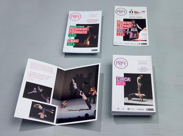 Teatro Circo Price on Behance - property brochure