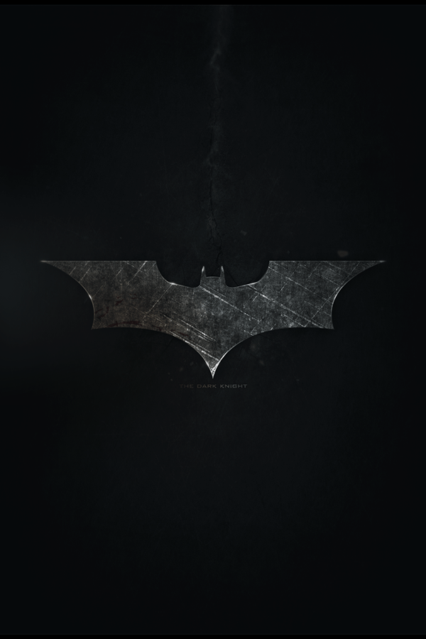 Complete Black Wallpaper Batman The Dark Knight Poster On Behance