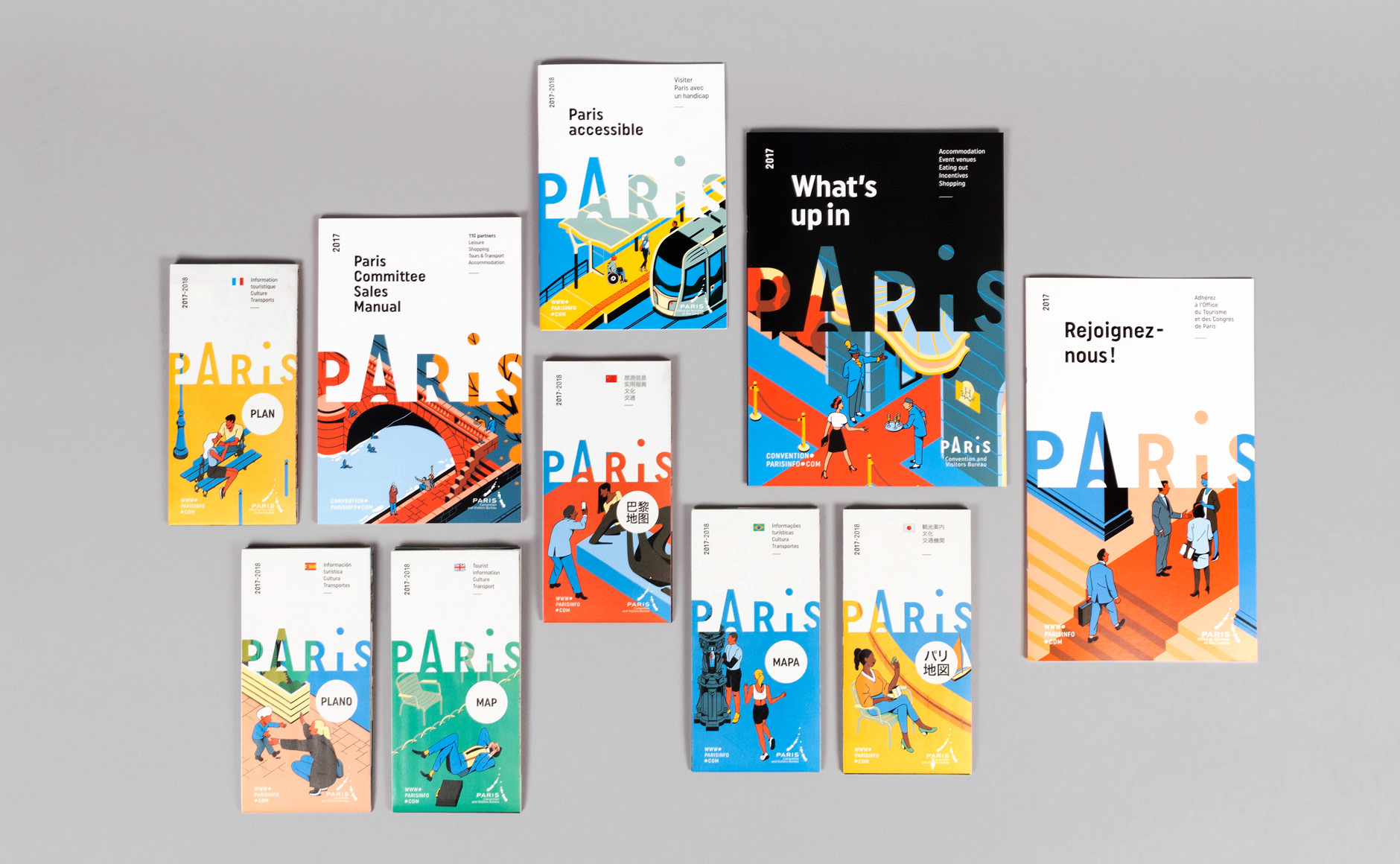 Paris Office Du Tourisme Paris Convention Visitors Bureau 2017 On Behance