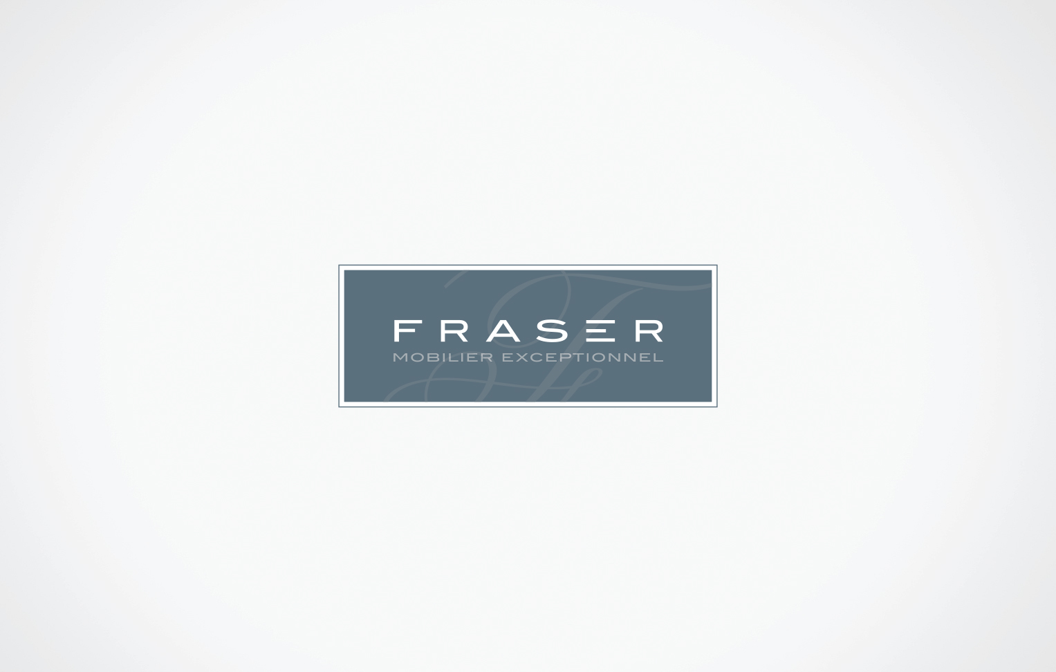 Meubles Fraser Furniture Branding Fraser Furniture On Behance