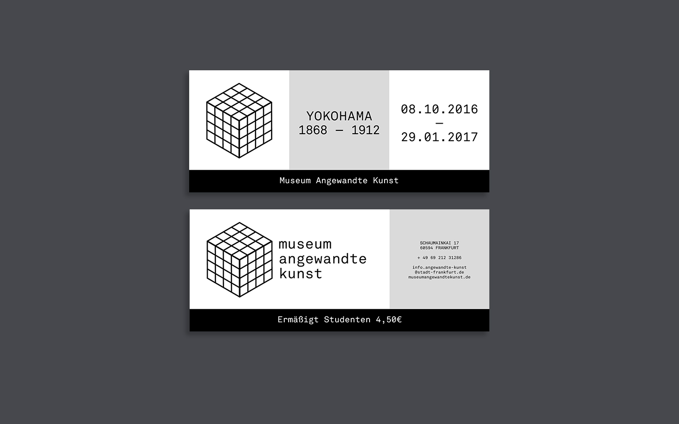 Mak Frankfurt Museum Angewandte Kunst Frankfurt Redesign On Behance