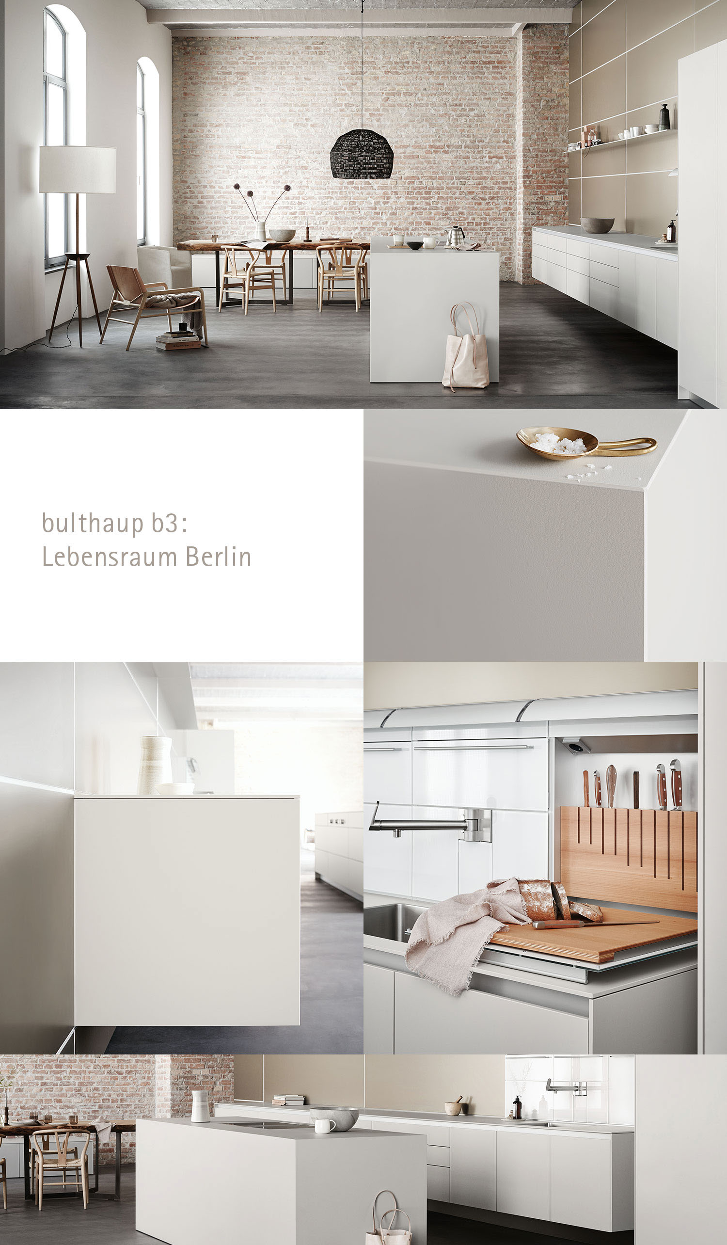 Bulthaup B3 Bulthaup B3: Lebensraum Berlin On Behance