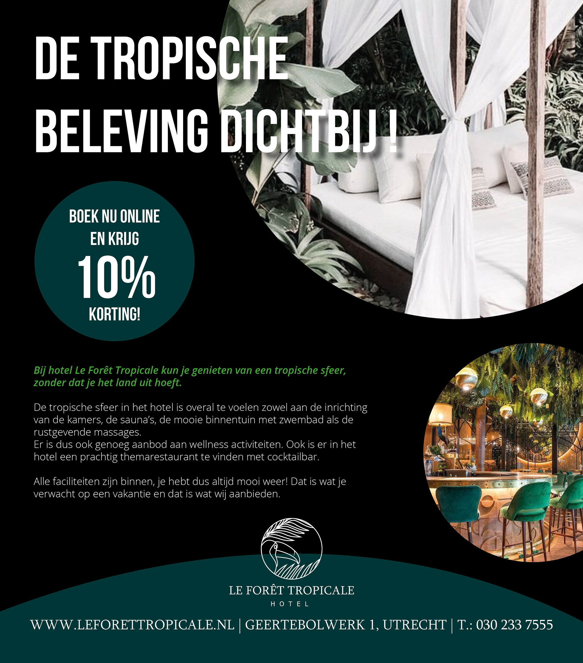 Weer Online Utrecht Le Foret Tropicale Exam Assignment On Behance