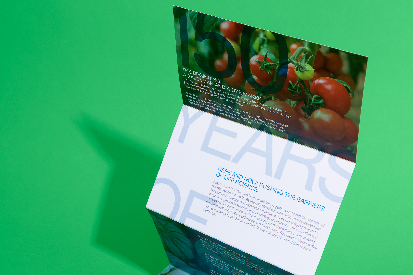 Tomato Wuppertal Bayer 150 Years On Behance
