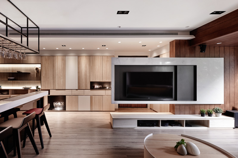 טלוויזיה תלויה על עמוד - חיפוש ב-Google Tv   טלויזיה Pinterest - wohnzimmer design weiss