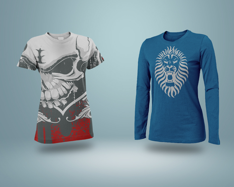 Free Realistic T-Shirt Mockup PSD on Behance