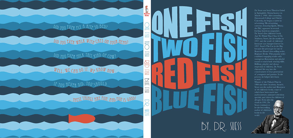 Book Cover Redesign - Dr Seuss on Behance