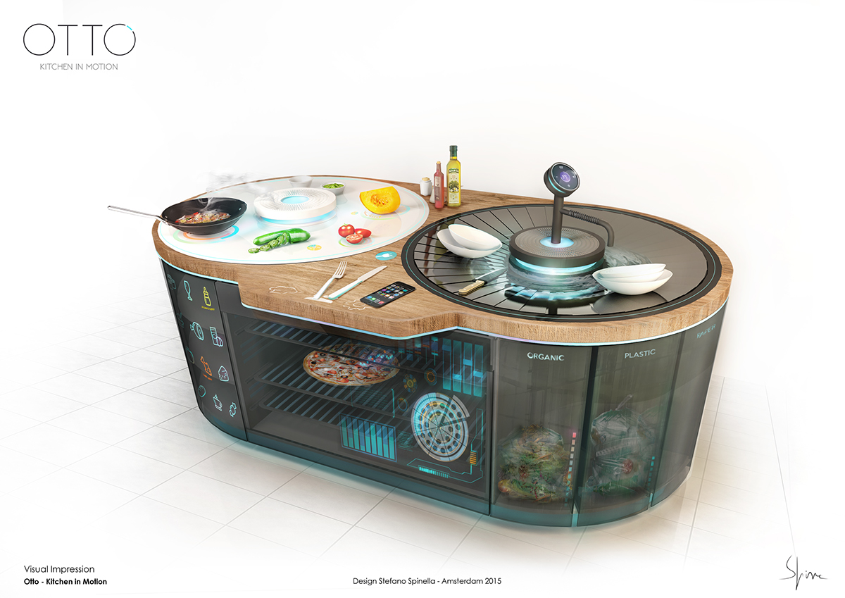 Whirlpool Outdoor Otto Otto Kitchen In Motion On Behance