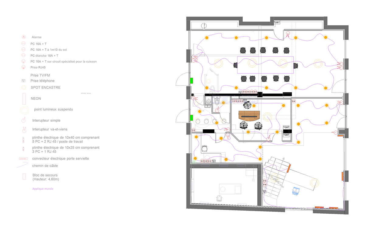 vectorworks electrical plan