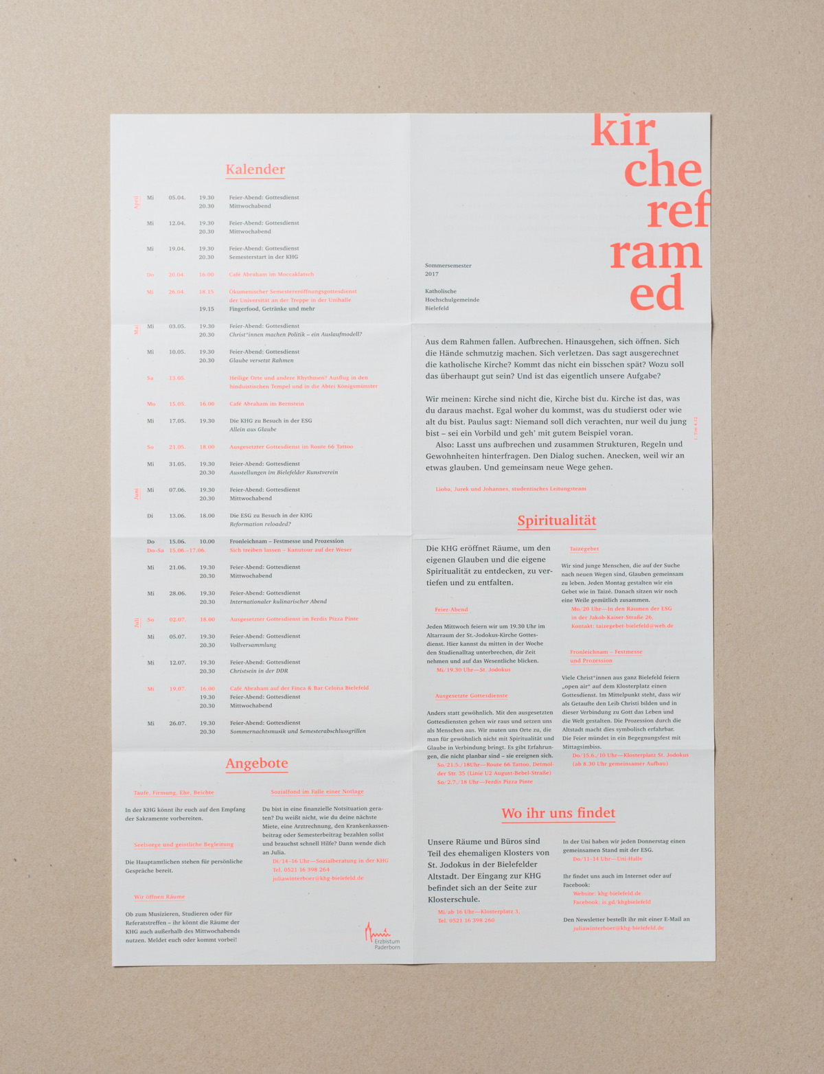 Recycling Bielefeld Semester Programme For Khg Bielefeld On Behance