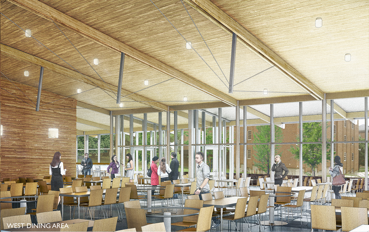 Ccsu Dining Hall On Behance