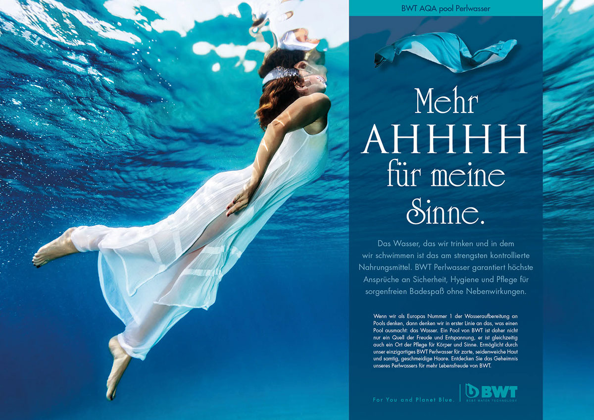 Pool Ohne Pflege Bwt Ad Campaign On Behance