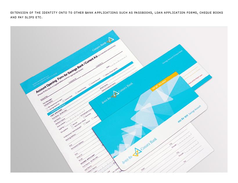 Rebranding of Canara Bank\u0027s Identity system on Behance - pay in slips