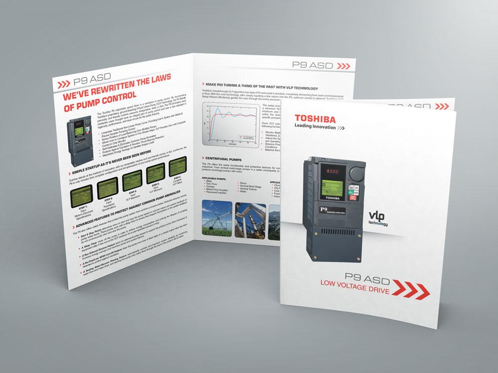 Industrial Brochure Template on Behance - sales brochure template