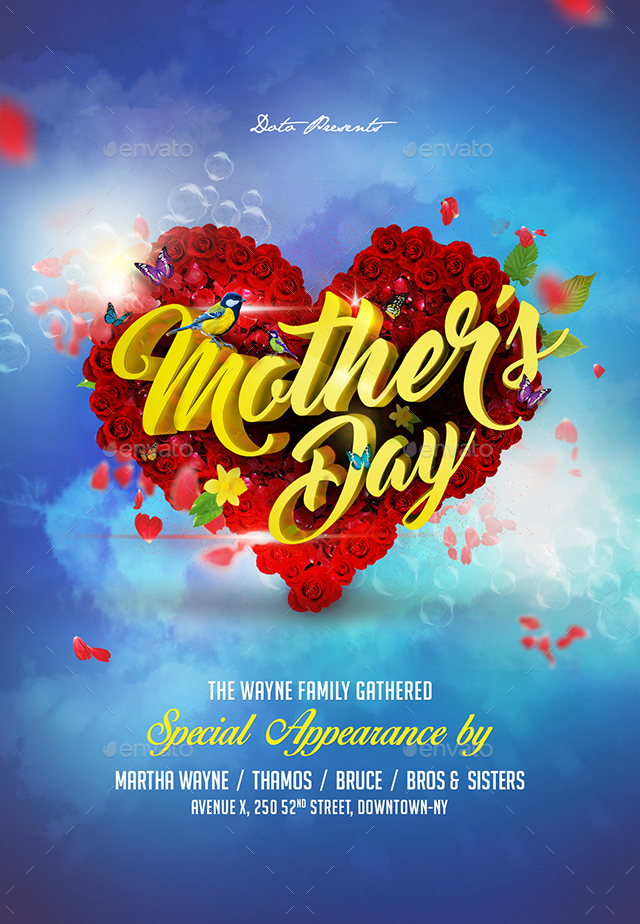 Mothers Day Flyer on Behance