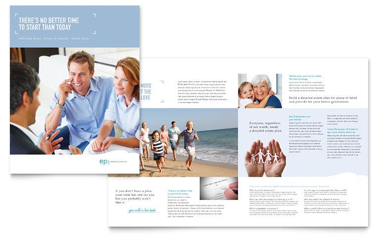 Estate Planner Marketing Materials on Behance