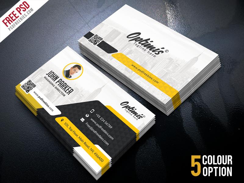 Creative Business Card Free PSD Bundle on Behance