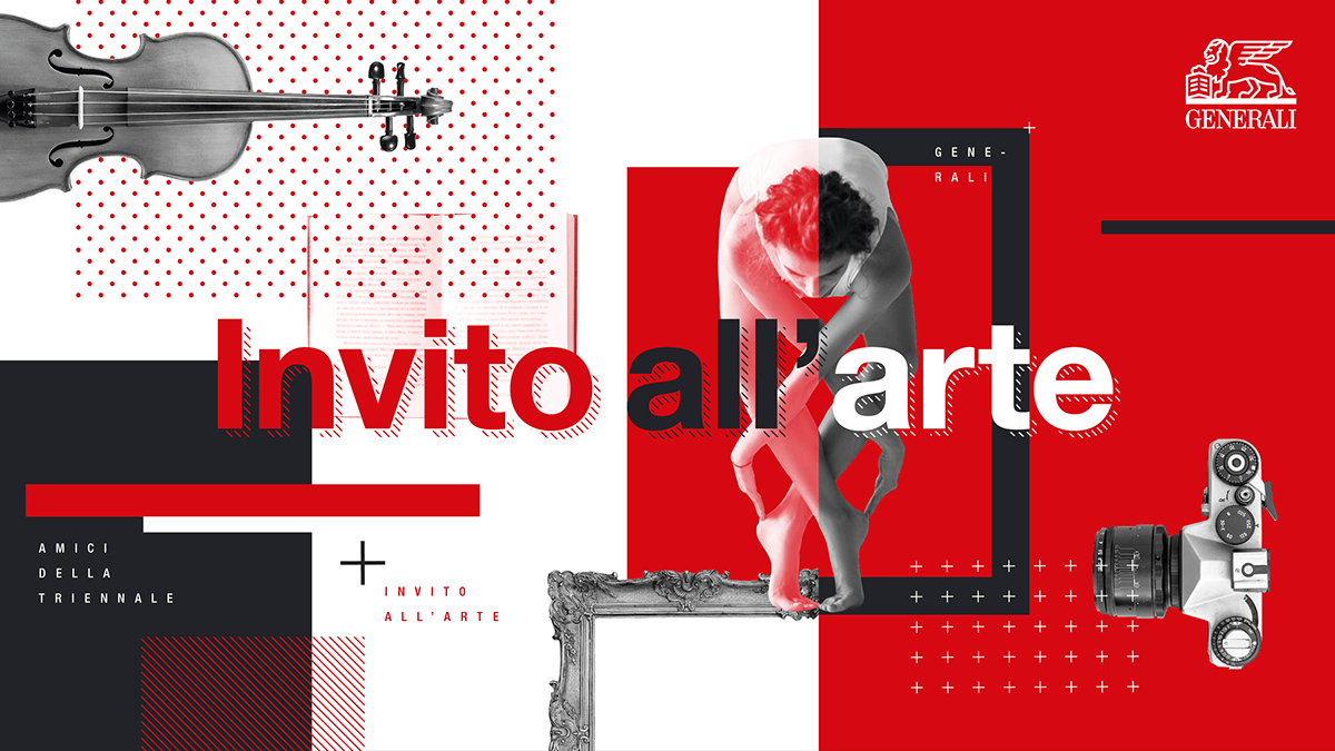 Arte Visual Group Generali Group La Triennale Di Milano Visual On Behance