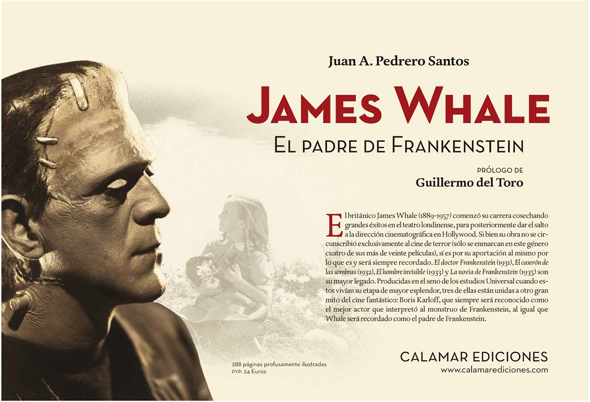 Frankenstein Libro Libro James Whale El Padre De Frankenstein On Behance