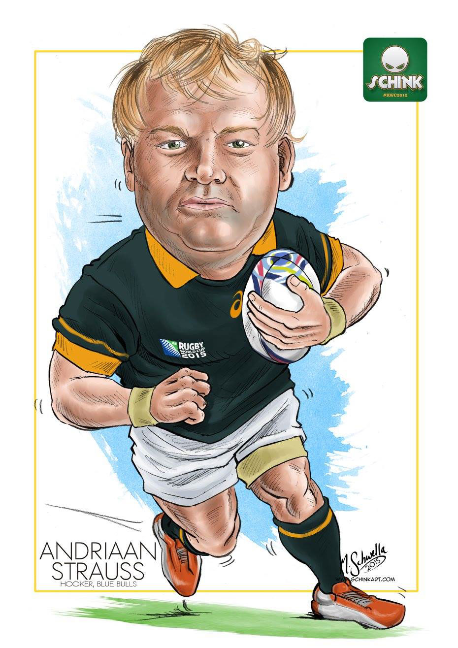 Springbock Hocker Rugby World Cup 2015 Springbok Squad On Behance