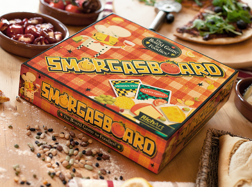 Smorgasboard Game On Behance