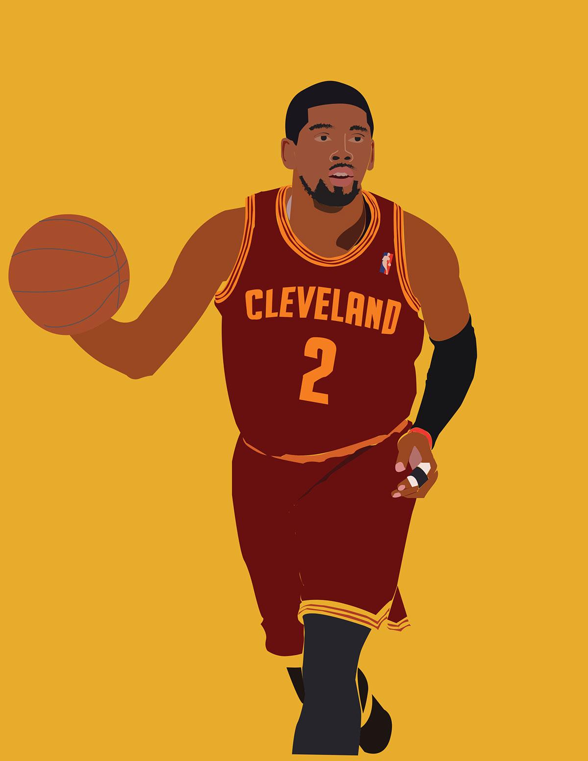 Kobe Bryant Animated Wallpaper Kyrie Irving Illustration On Behance