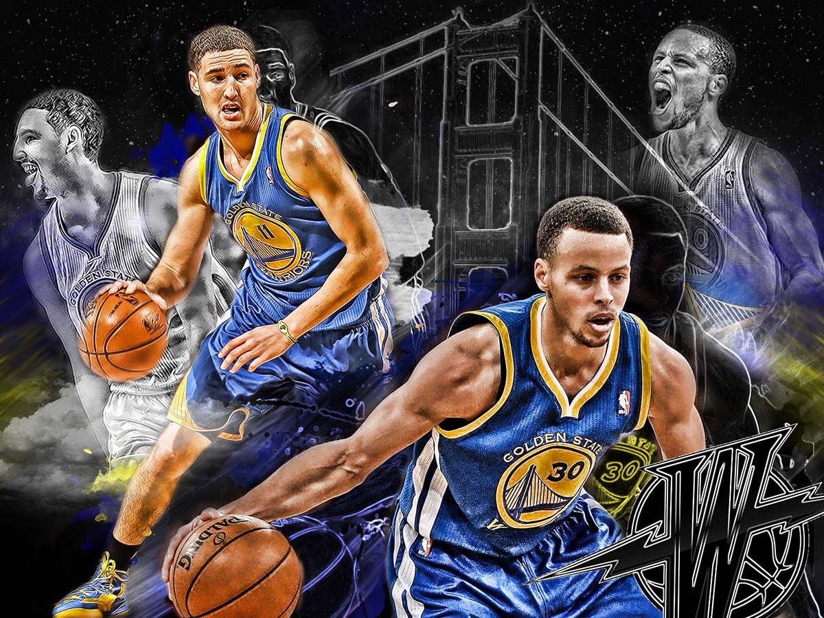 Kd Wallpaper Hd Steph Curry And Klay Thompson On Behance