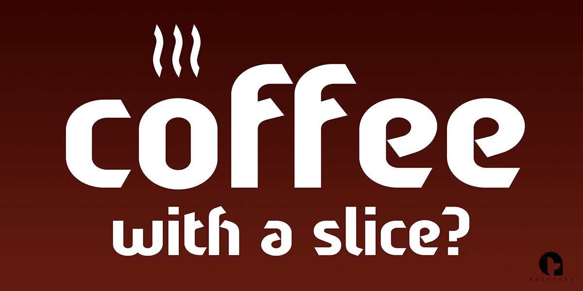 Sliced Font Family on Behance
