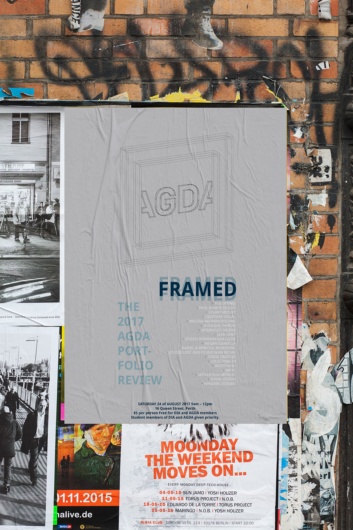 Poster Shop Perth Agda Poster On Behance