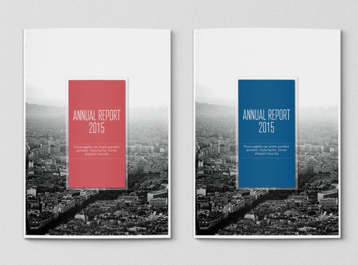 Simple Annual Report Template on Behance - annual report template design