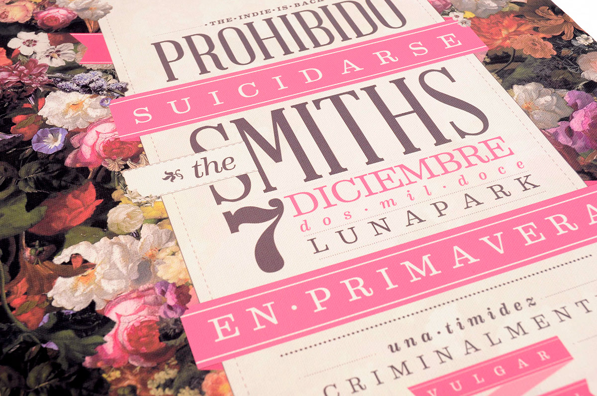 Prohibido Suicidarse En Primavera Libro Cd De Lujo 39 39the Smiths 39 On Behance