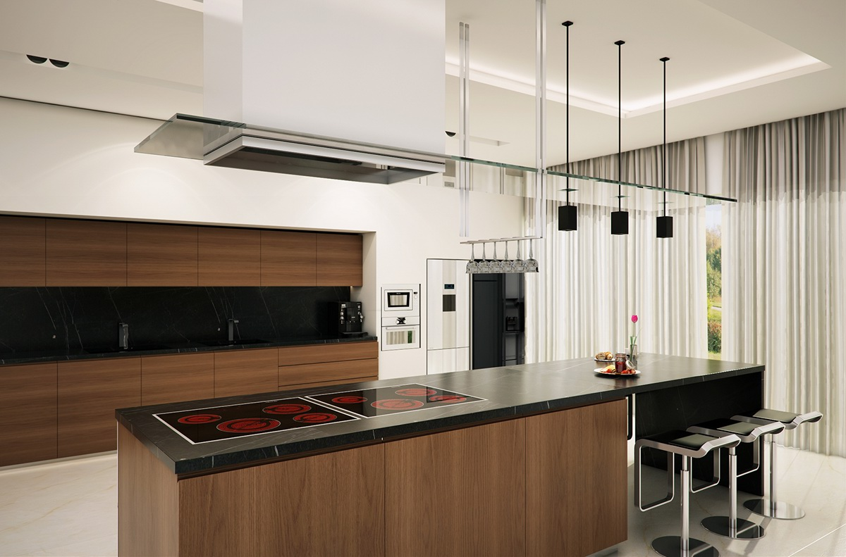 Kitchen Design Software B Andq Modern Kitchen On Behance