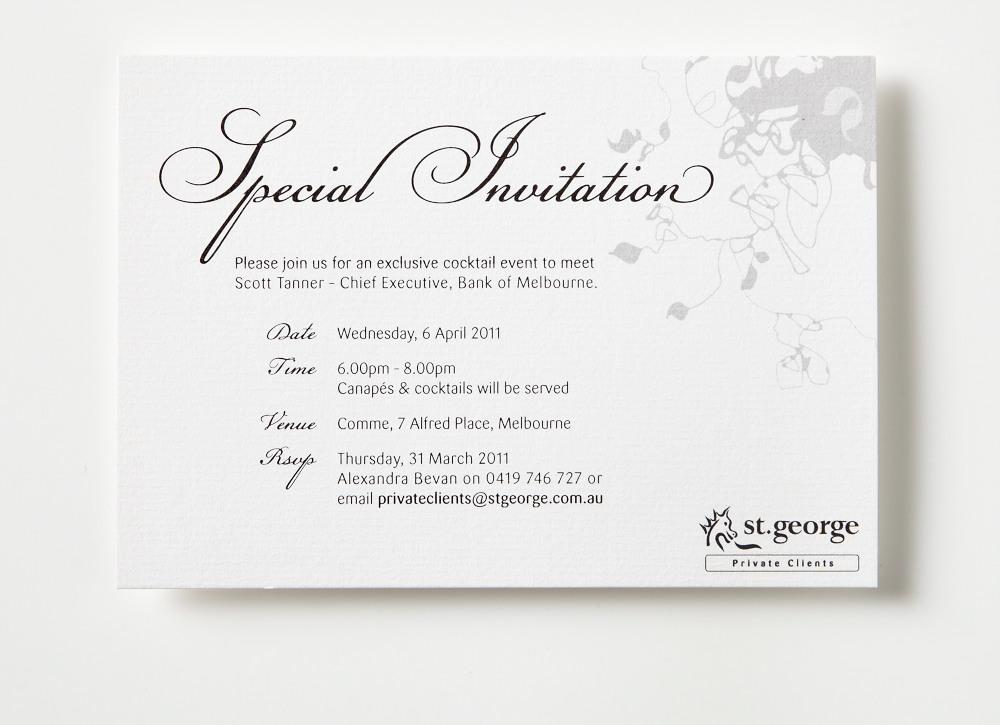 Cocktail Event - INVITATION DESIGN on Behance