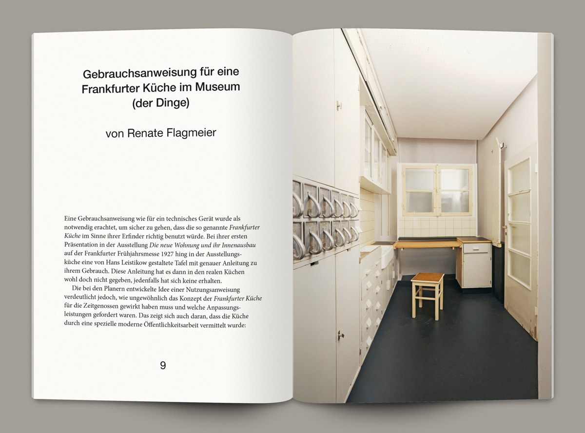 Frankfurter Küche Museum Museum Der Dinge The Frankfurt Kitchen Book On Behance