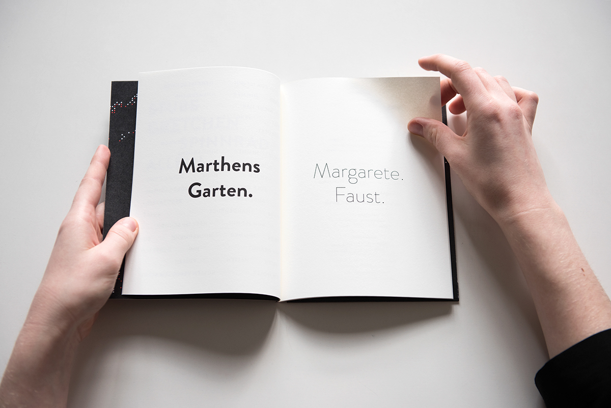 Faust Garten Reading Goethe S Faust On Behance
