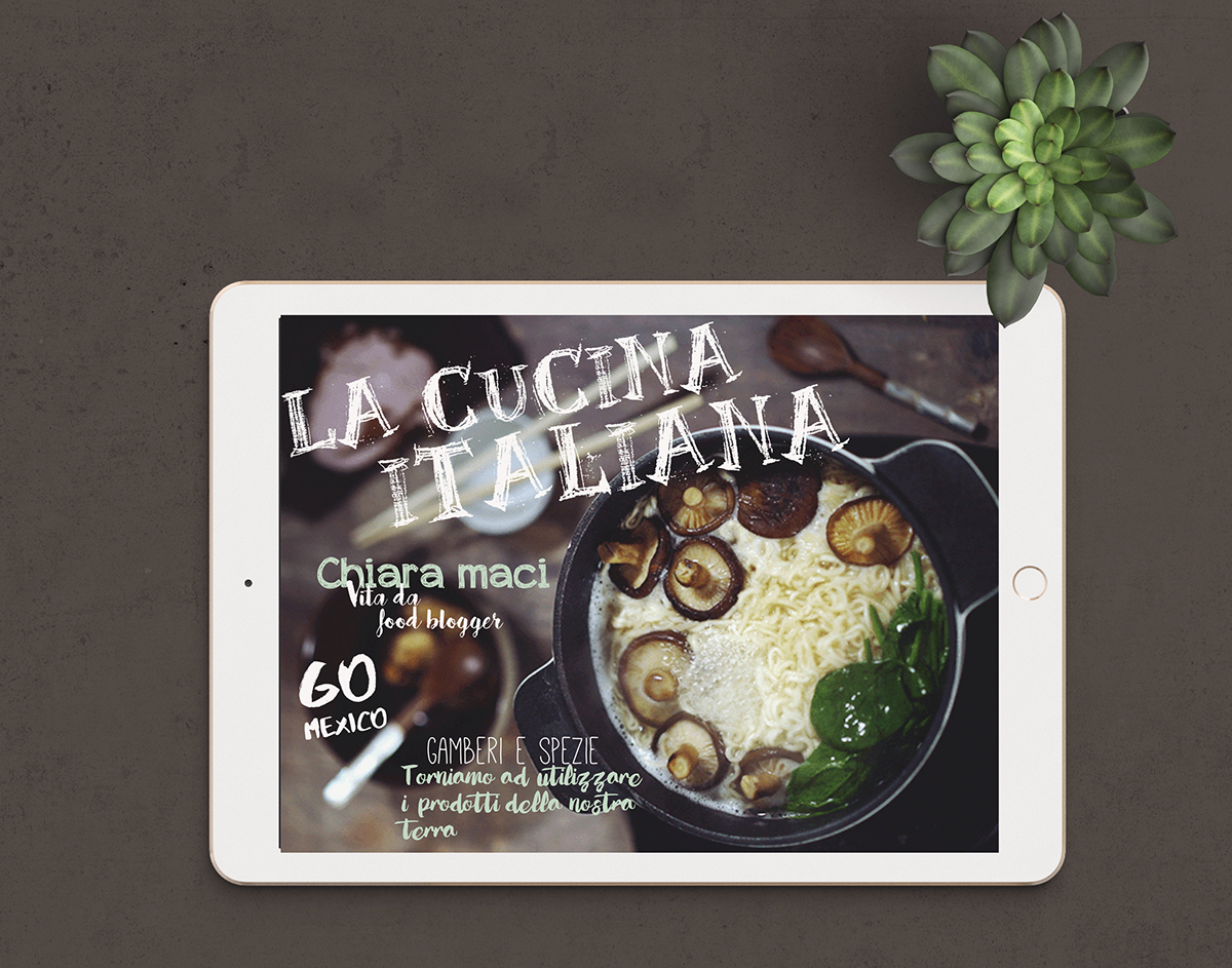 The Magazine Of La Cucina Italiana Digital Magazine Restyling La Cucina Italiana On Behance
