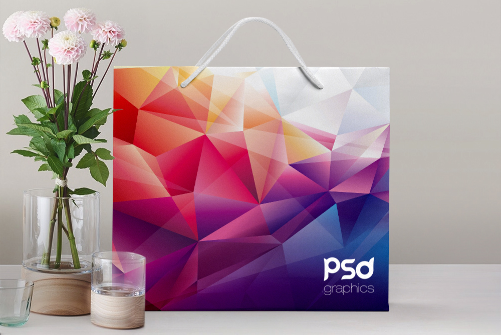 Shopping Paper Bag Mockup Free PSD Graphics on Behance
