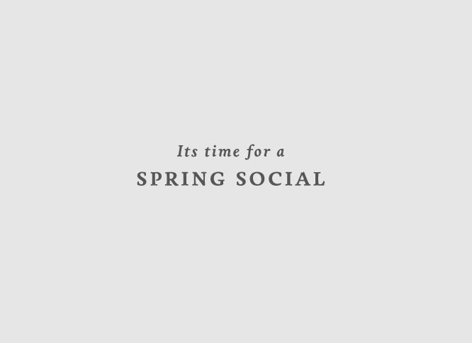 Spring Social Invitations on Behance