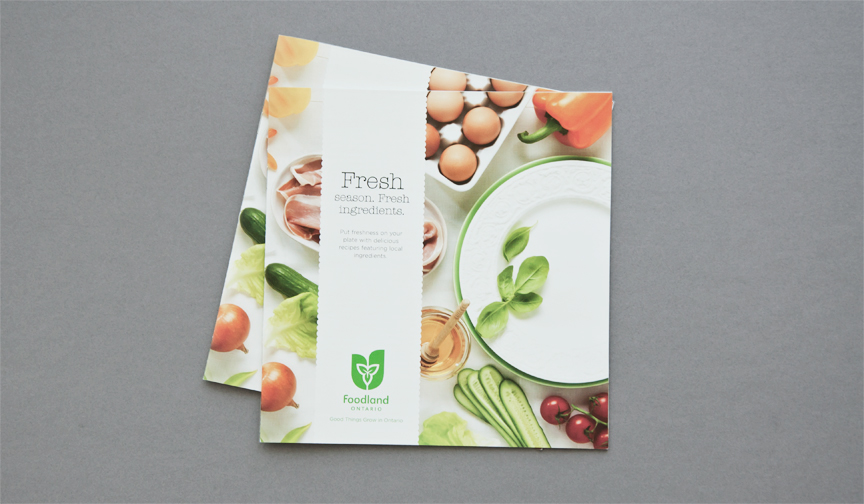 FOODLAND SPRING RECIPE BOOK 2012 on Behance - property brochure