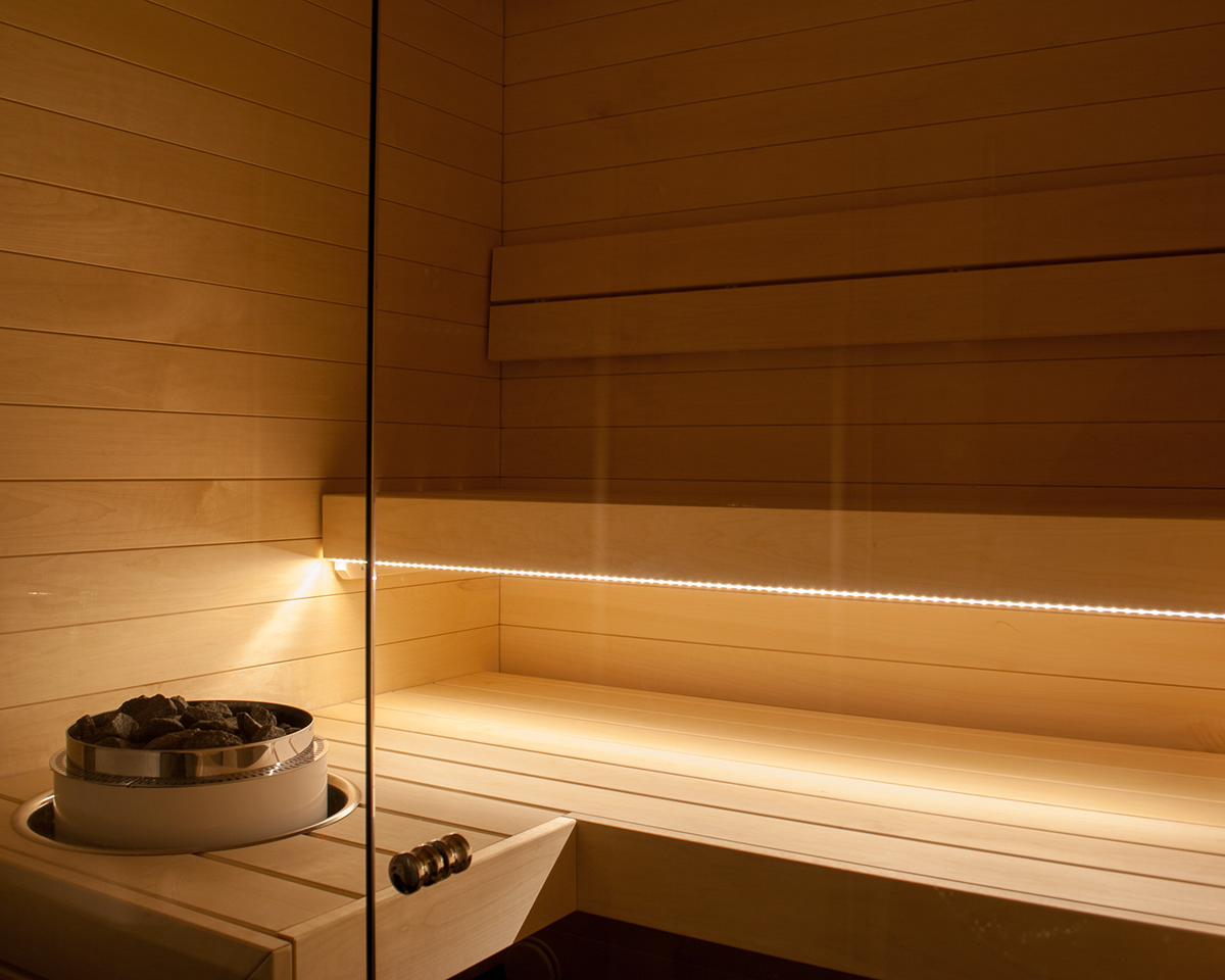 Sauna Led Sauna On Behance