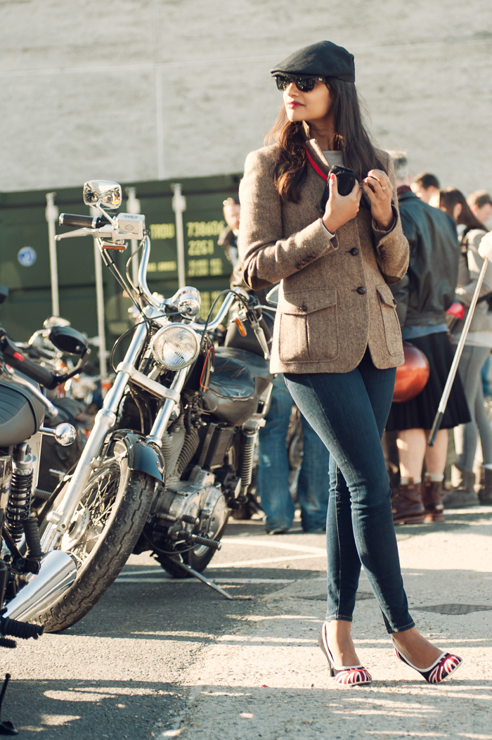 Motorcycle Girl Wallpaper The 2015 Distinguished Gentlemans Ride London On Behance