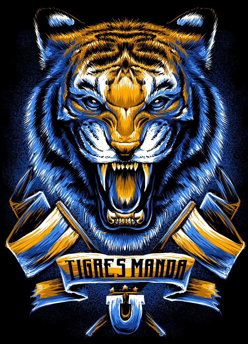 Tigres Incomparables X Tigres Uanl On Behance