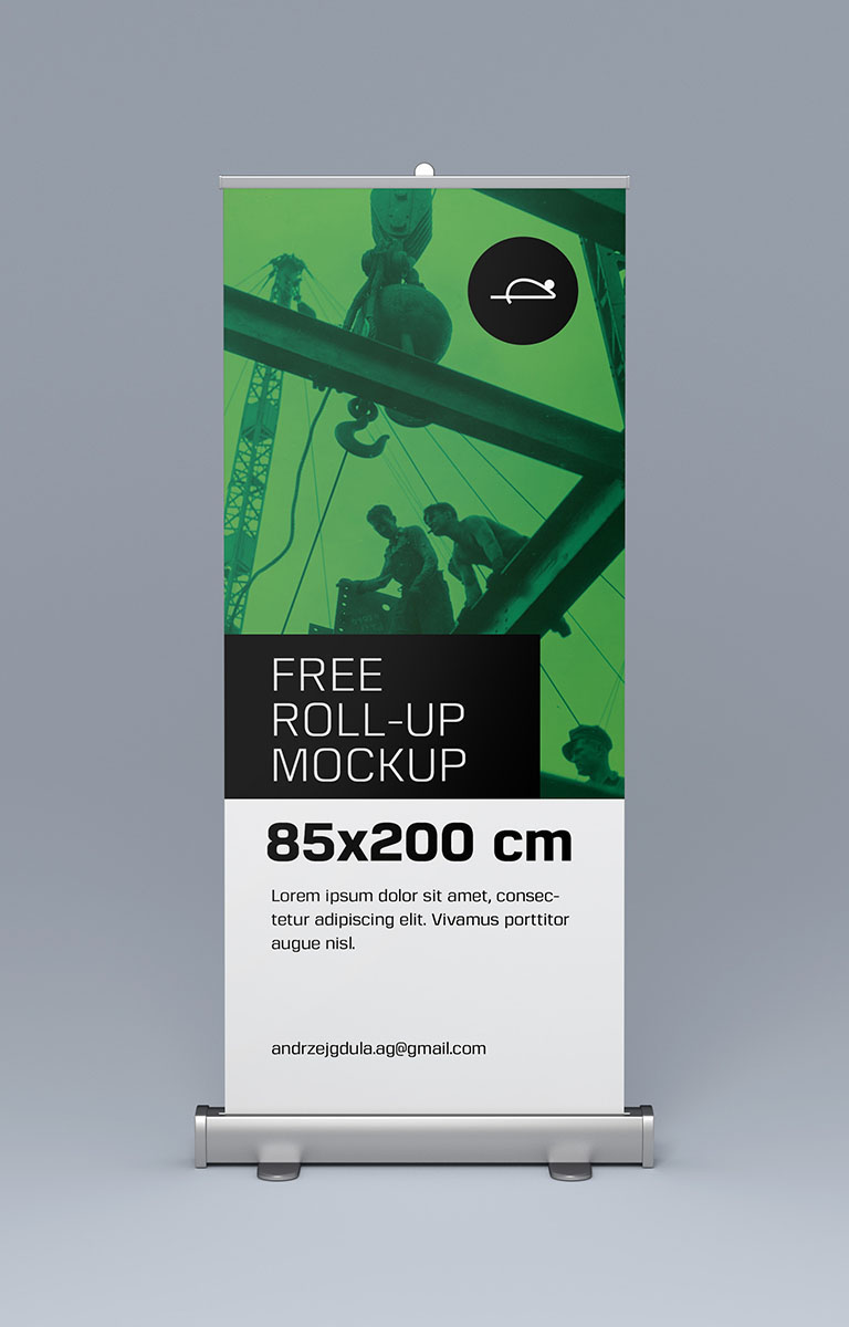 Rollup Free Roll Up Mockups On Behance