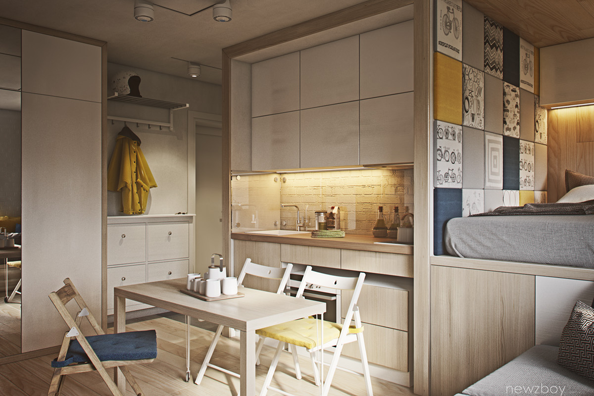 Woonkamer 35m2 Quotcozy Apartments Quot On Behance