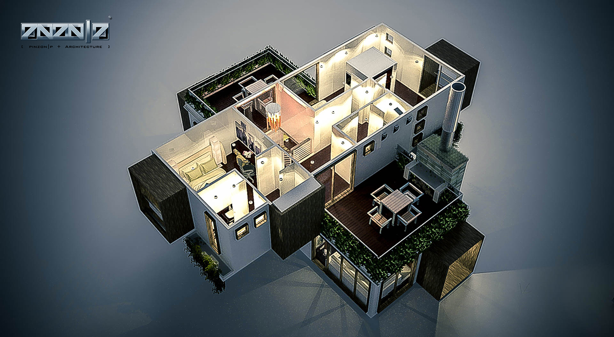 Container Haus Plan A2 X Haus Ecomodular Container Home In Process On Los Andes
