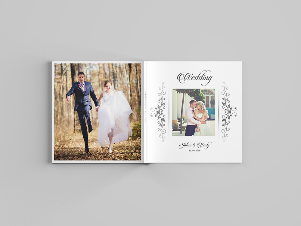 12x12 Wedding Album Template 30 Pages on Behance