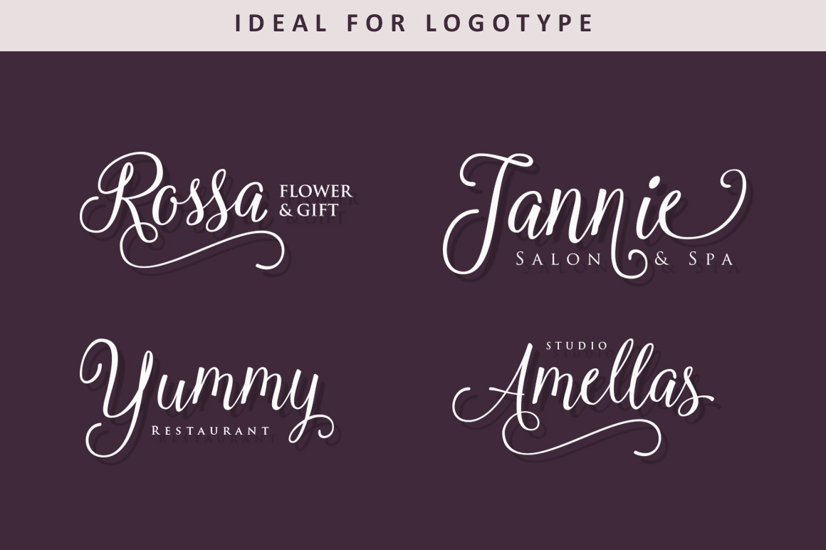 Copperplate Calligraphy Font Free Marcella Script On Behance