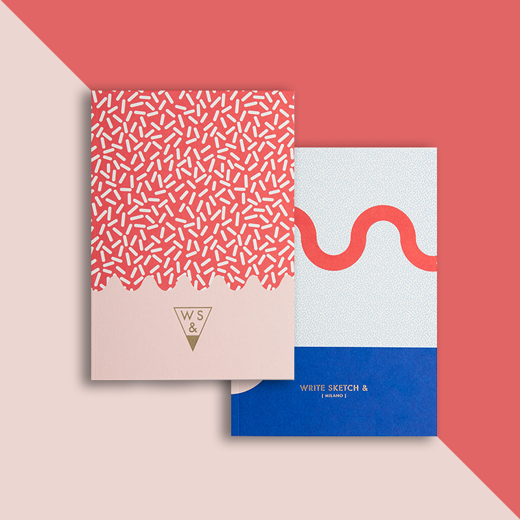 Write Sketch \ Super Collection Notebooks on Behance - how to write a paper